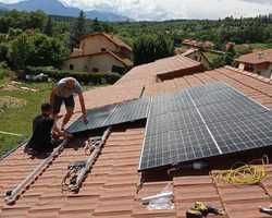 Installation de panneaux photovoltaïque - La Batie Neuve - Eco N'Home